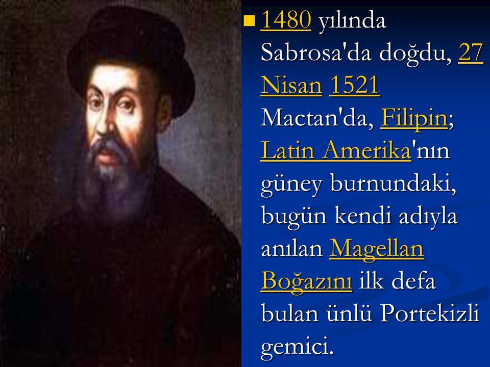 Portekizli Denizci Ferdinand Magellan