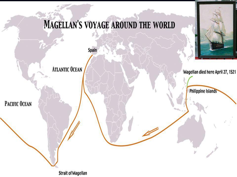 1480 yılında Sabrosa'da doğdu, 27 Nisan 1521 Mactan'da, Filipin; Latin Amerika'nın güney burnundaki, bugün kendi adıyla anılan Magellan Boğazını ilk d