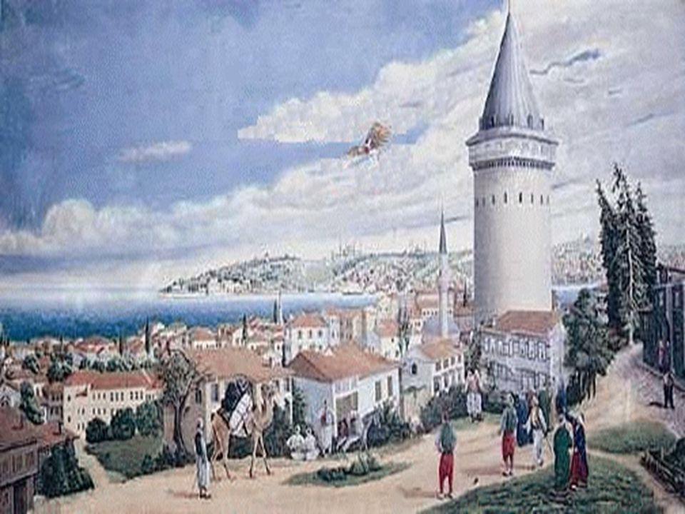 Leonardo da Vinci'nin kuşlar üzerinde yaptığı çalışmalarından ilhamlandığı sanılmaktadır. Tarihi uçuşuna İstanbul'daki Galata Kulesi'nden başlamıştır