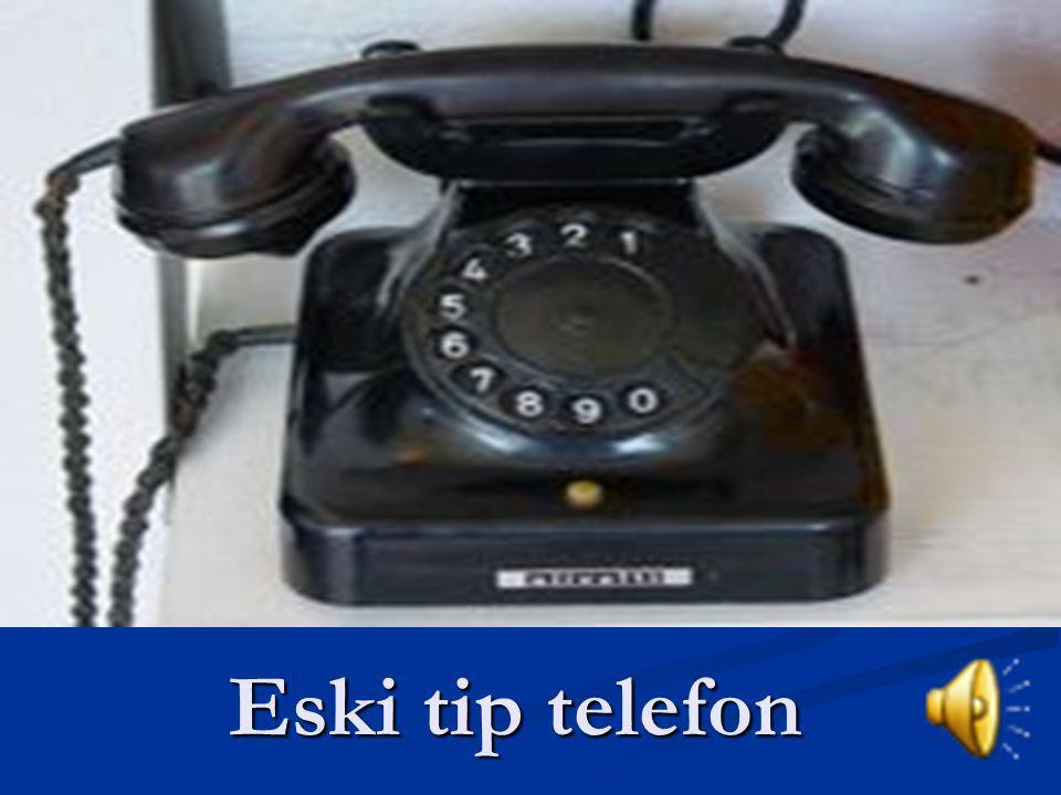 Eski tip telefon