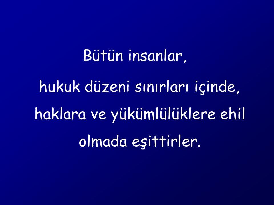 HAK EHLİYETİ FİİL EHLİYETİ