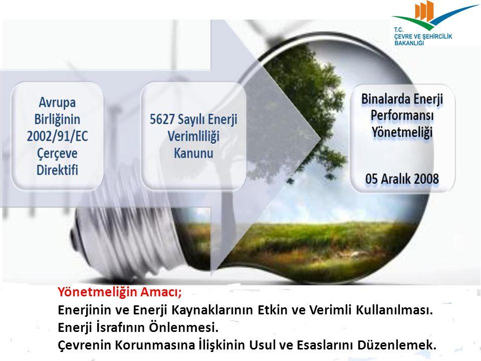  ENERJİ KİMLİK BELGESİ DÜZENLENMESİ Enerji Kimlik Belgesi düzenlenirken BEP-TR kullanılır.