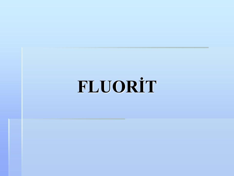 FLUORİT