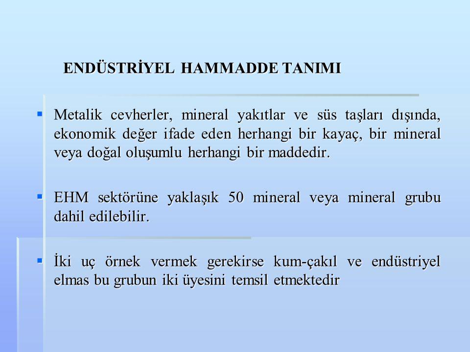  Bölgedeki en önemli yataklar Balıkesir Marmara Adası' nda bulunmaktadır.