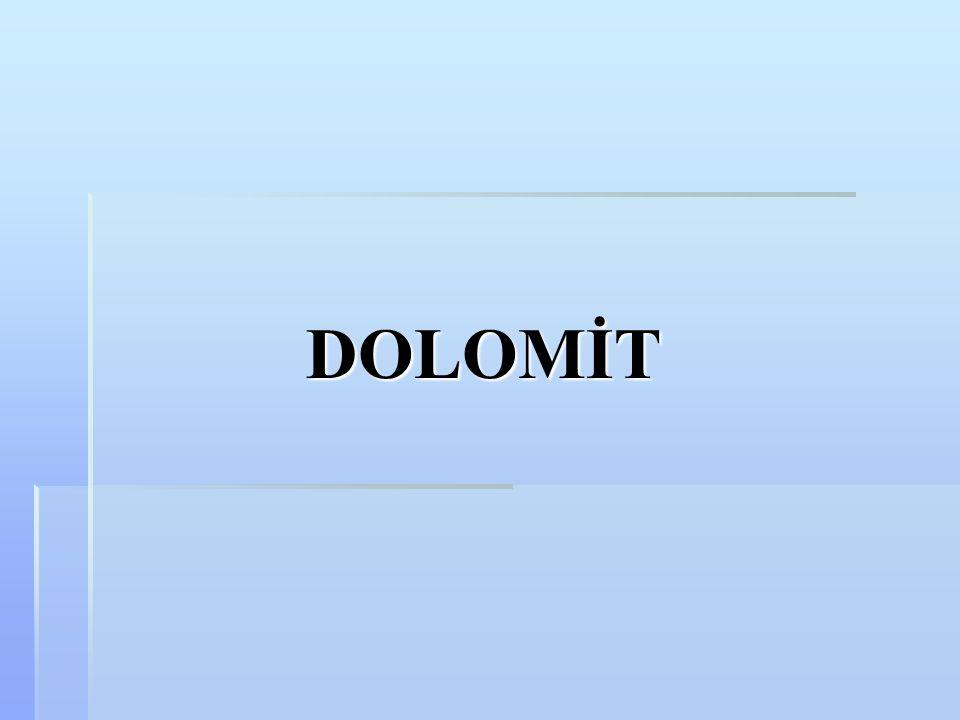DOLOMİT