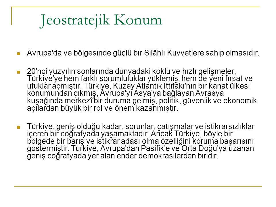 DOĞAL KOŞULLAR YÜZEY ŞEKİLLERİ Türkiye'nin ortalama yükseltisi 1.132 metredir.