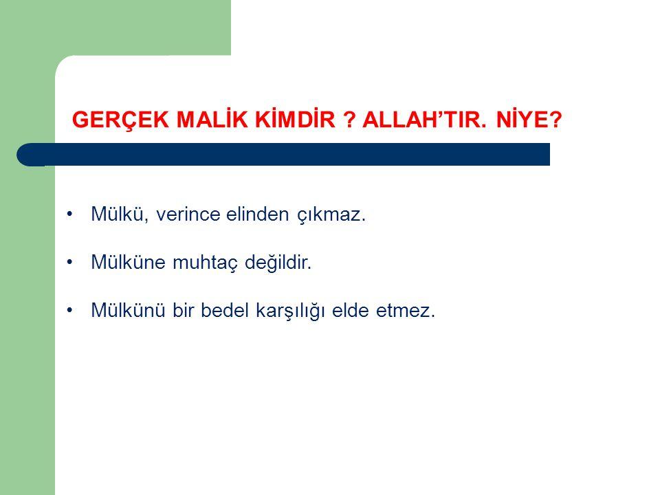 Kur'an'da El-Malik Fatiha 3: O, Din (Hesap) gününün Malikidir.