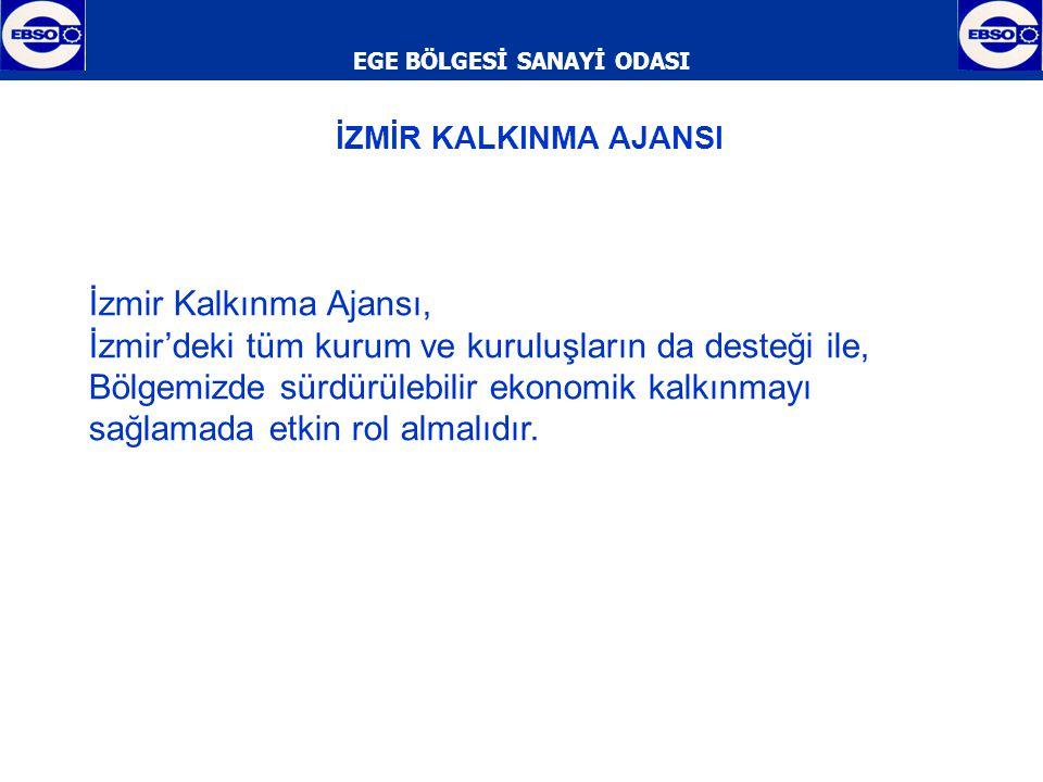 EGE BÖLGESİ SANAYİ ODASI  Ticaret hacmi bakımından ülkemizin en önemli şehirlerinden olan İzmir'de, Alsancak Limanı'nın yetersiz kalması sebebiyle ikinci bir limana acilen ihtiyaç duyulmaktadır.