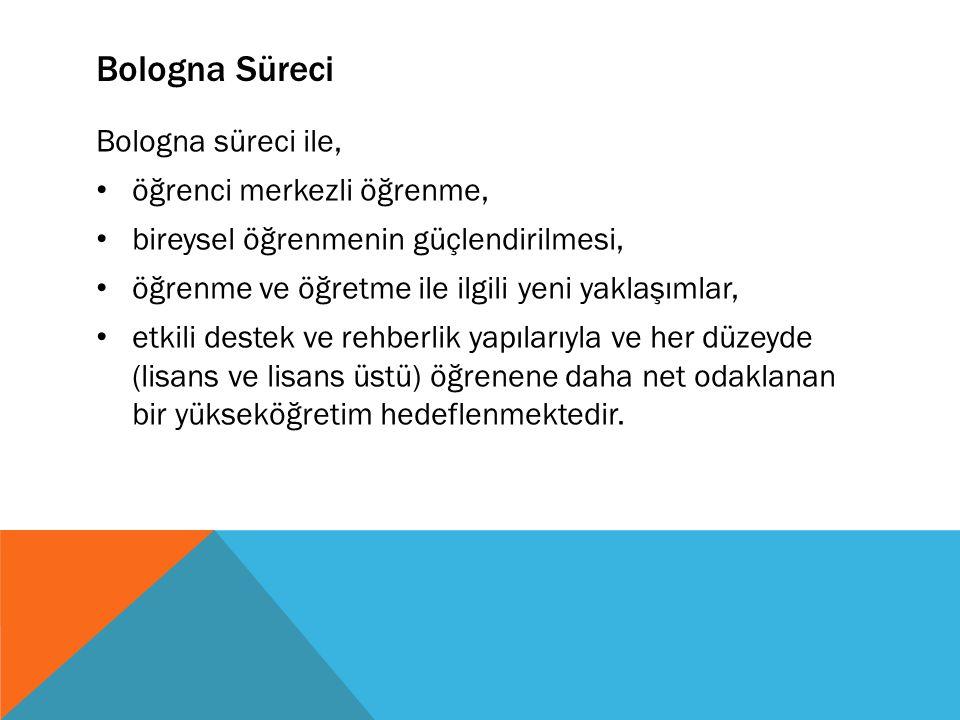 AVRUPA YETERLİLİKLER ÇERÇEVESİ (ŞEMSİYE ÇERÇEVELER) 1.