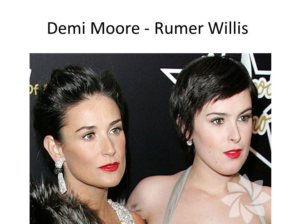 Demi Moore - Rumer Willis
