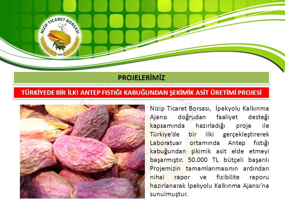 Nizip Ticaret Borsası, İpekyolu Kalkınma Ajansı doğrudan faaliyet desteği kapsamında hazırladığı proje ile Türkiye'de bir ilki gerçekleştirerek Labora