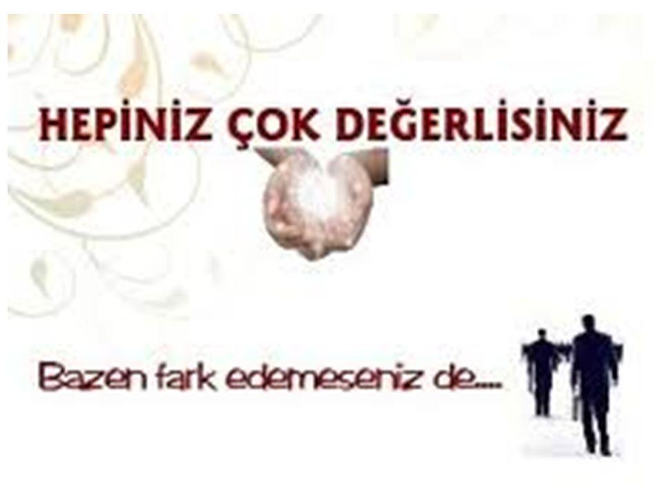 İnsan Hakları Evrensel Bildirgesi 1.Madde: Bütün insanlar özgür, onur ve haklar bakımından eşit doğarlar.