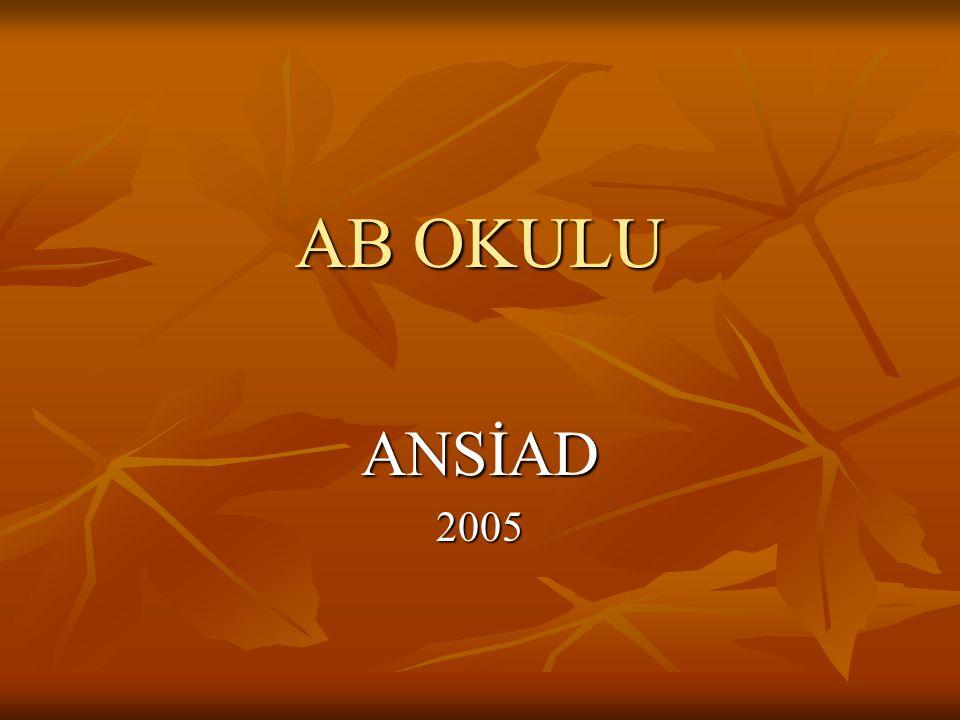 AB OKULU ANSİAD2005