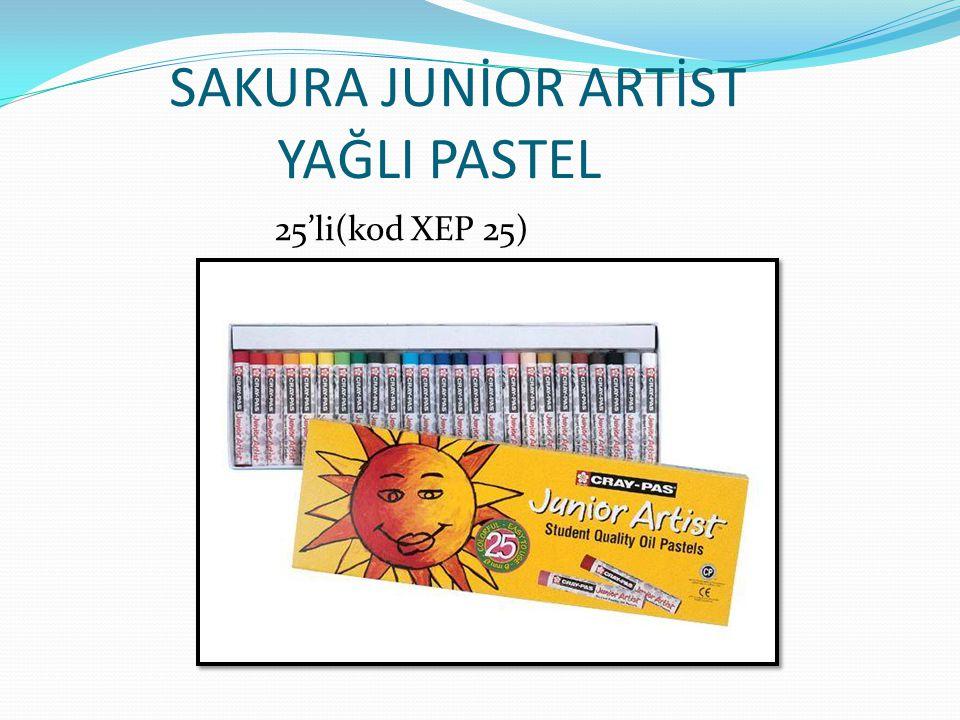 SAKURA JUNİOR ARTİST YAĞLI PASTEL Jumbo (kod XCJP12)
