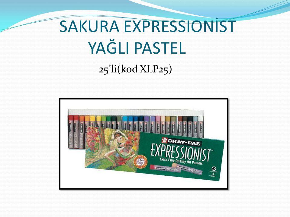 SAKURA EXPRESSIONIST YAĞLI PASTEL 50'li (kod XLP50)