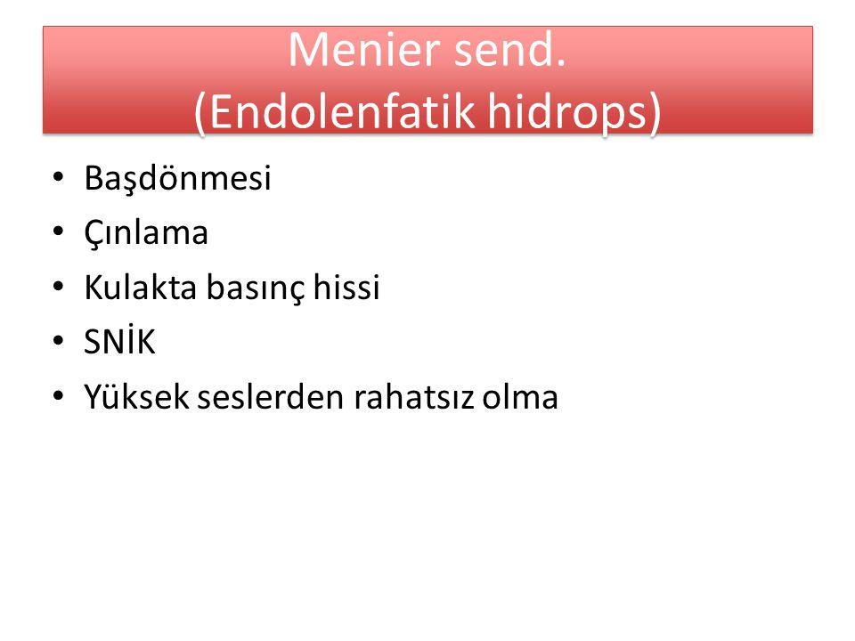 Menier send.