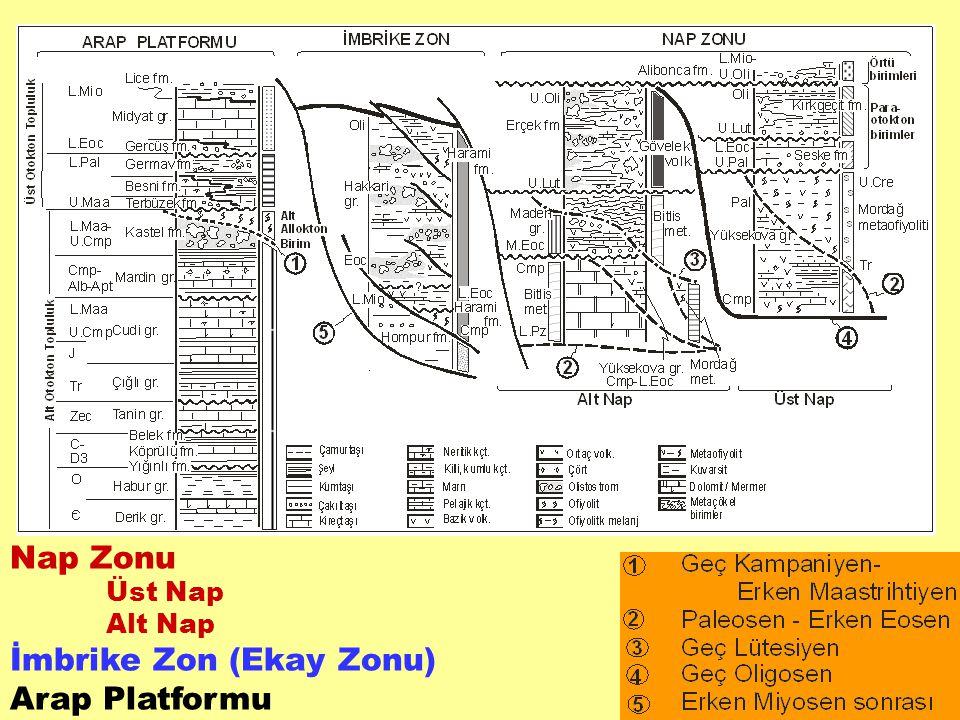 ARAP PLATFORMU Arap platformunun doğu kesimlerindeki istif, Alt Paleozoyik – Alt Miyosen yaşlı, genellikle denizel ortamda gelişen ve çoğunlukla süreklilik gösteren bir çökel dizi ile temsil edilir.