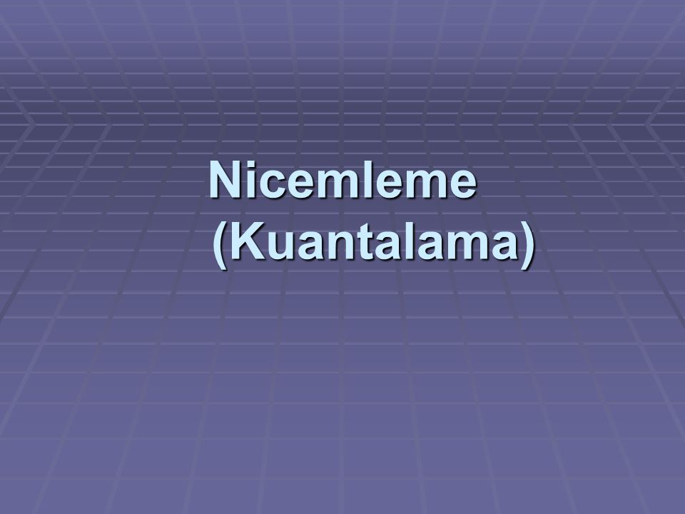 Nicemleme (Kuantalama)