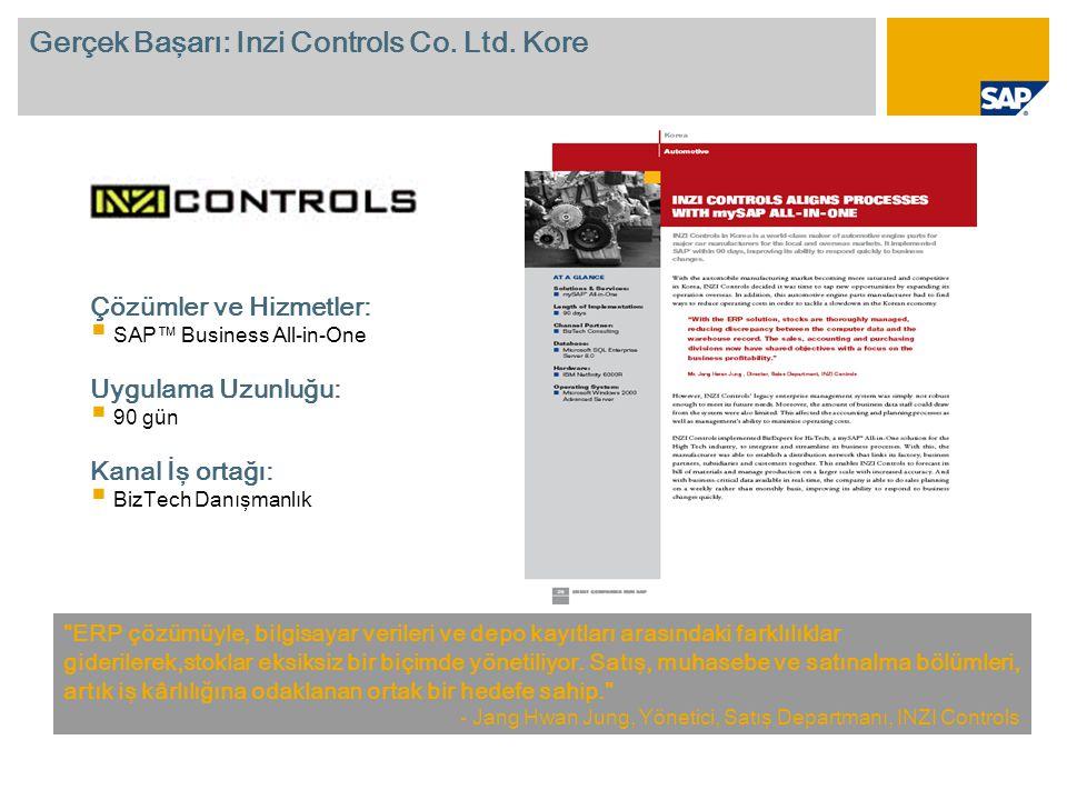 Gerçek Başarı: Inzi Controls Co.Ltd.