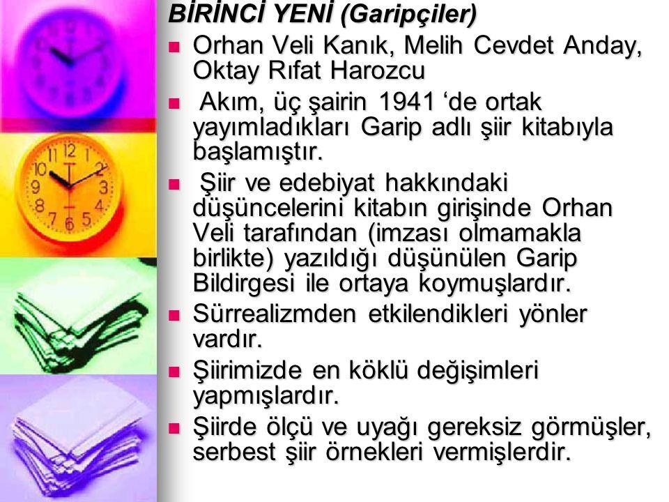 ÖMER BEDRETTİN UŞAKLI (1904—1946) Hece ölçüsüyle şiirler yazmıştır.