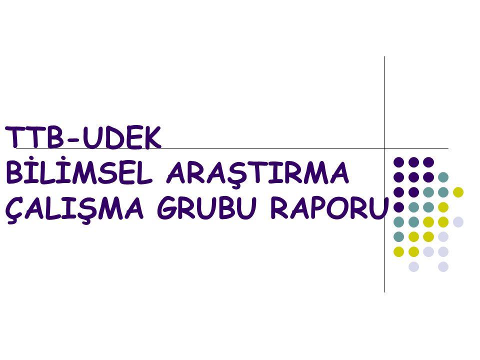 Bilimsel Araştırma Çalışma Grubu  43 katılımcı  İzmir, Ankara, İstanbul, Aydın, Bursa, Kırıkkale, Antalya, Gaziantep.