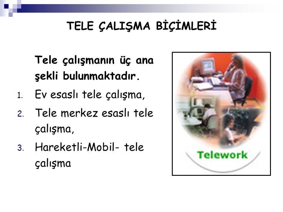 Yöneticilere tele çalışmaya yönelik eğitim ve seminerlerin verilmesi gerekmektedir.