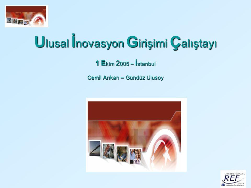 Kamuda İnovasyon Eşbaşkanlar: Yılmaz Argüden ve Yavuz Ege Türkiye ekonomisinde kamu hem yatırımlar hem de harcamalarda önemli bir yer işgal etmekte olup, ülkenin ekonomik ve sosyal yaşamında önemli düzenleyici rol sahibidir.