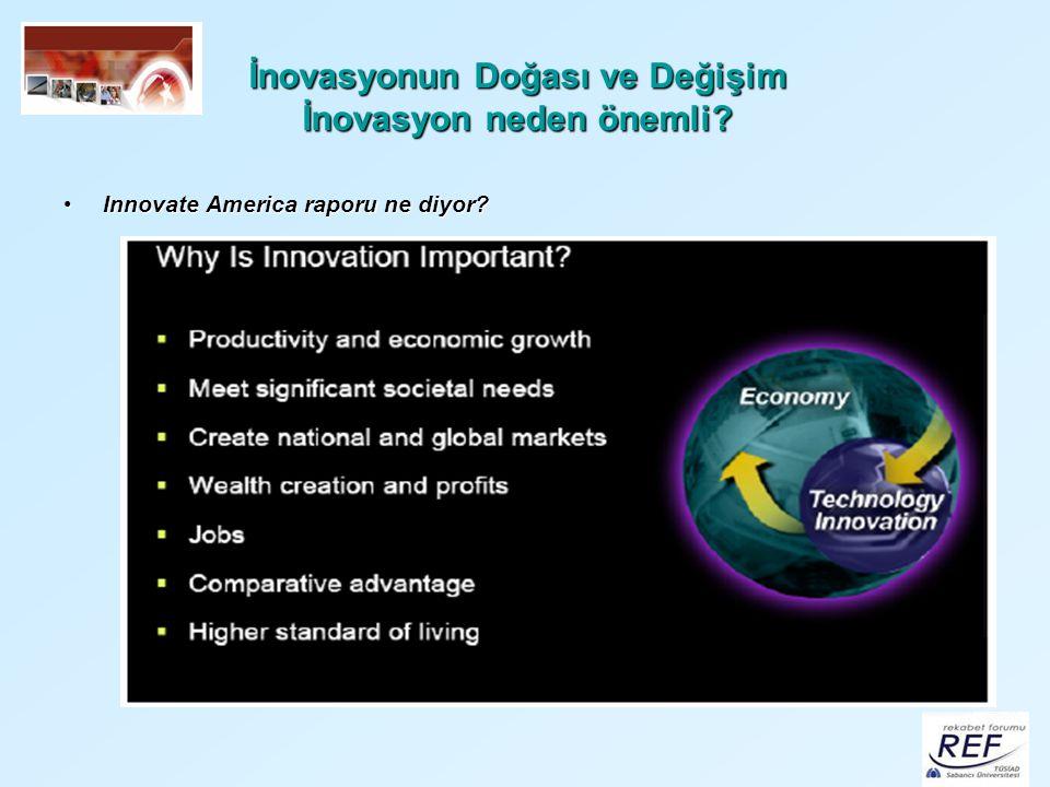 Fırsatlar İnovasyon performansını en fazla geliştirenler arasında olmak Bazı inovasyon politikalarını başarı ile uygulayabilmek Merkezi olmayan inovasyon politikaları oluşturabilmek Bölgesel farklılıkları giderebilme imkanı İnovasyon politikalarının diğer kamu politikalarına entegre edebilmek şart