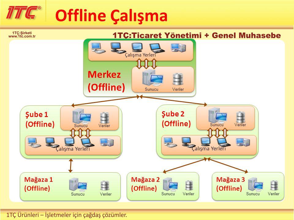 Offline Çalışma Merkez (Offline) Çalışma Yerleri SunucuVeriler Şube 1 (Offline) Çalışma Yerleri SunucuVeriler Şube 2 (Offline) Çalışma Yerleri SunucuVeriler Mağaza 2 (Offline) SunucuVeriler Mağaza 3 (Offline) SunucuVeriler Mağaza 1 (Offline) SunucuVeriler