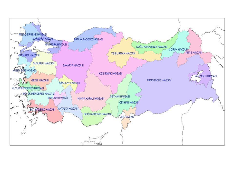 Mutlak Koruma Alanı (0 - 300 m) Kısa Mesafeli Koruma Alanı ( 300m –1000 m) Kısa Mesafeli Koruma Alanı ( 300m –1000 m) Orta Mesafeli Koruma Alanı (1000 – 2000 m) Orta Mesafeli Koruma Alanı (1000 – 2000 m) Uzun Mesafeli Koruma Alanı (2000 - 5000 m) Uzun Mesafeli Koruma Alanı (2000 - 5000 m) Uzun Mesafeli Koruma Alanı (5000 m - Havza Sınırı) Uzun Mesafeli Koruma Alanı (5000 m - Havza Sınırı)