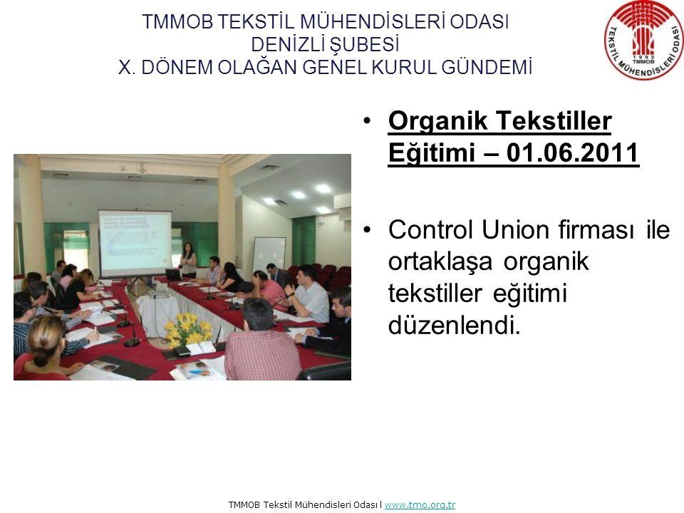 TMMOB Tekstil Mühendisleri Odası l www.tmo.org.trwww.tmo.org.tr TMMOB Meslek Odaları Futbol Turnuvasın'na Katıldık– 07.04.2011 İnşaat Mühendisleri Oda