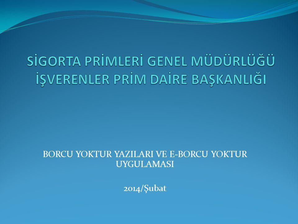 DEVLET YARDIMI, TEŞVİK VE DESTEKLERDEN YARARLANACAKLARA İLİŞKİN DÜZENELNEN BORCU YOKTUR YAZILARI Devlet yardımları ile teşvik ve desteklerden yararlanabilmeleri için; Türkiye genelinde yazının verildiği veya borcun sorgulandığı tarih itibarıyla muaccel borçlarının bulunmaması veya borçlarının tecil ve taksitlendirilmiş ya da yapılandırılmış olması gerekmektedir.