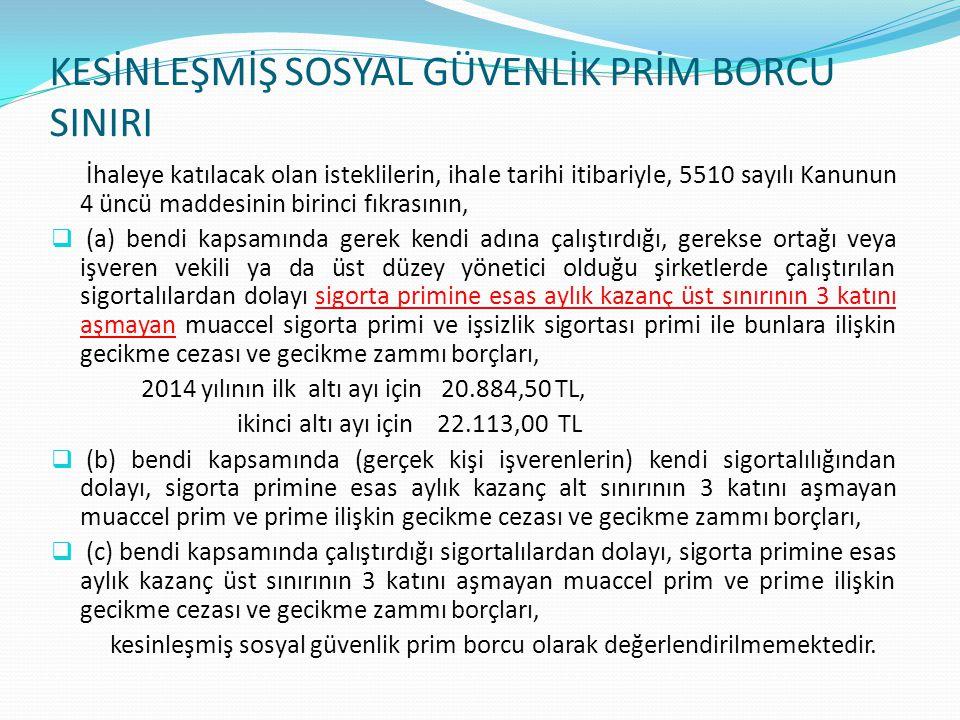 Özel Hastaneler, Gözlükçüler, Görüntüleme Merkezleri ve Eczanelerce Talep Edilen Borcu Yoktur Yazıları (e-Borcu yoktur uygulamasından alınabilir) Kurumumuzla yapmış oldukları protokol karşılığı verdikleri hizmetlerin veya reçetelerin bedelini almak amacıyla Kurumumuza yasal ödeme süresi geçmiş borcunun bulunmadığına ilişkin yazı verilmesinin talep edilmesi halinde, başvuruda bulunan işverenin Türkiye genelinde kendi adına tescilli diğer işyerlerinin yanı sıra, ortak, üst düzey yönetici, alt işveren ve işveren vekili olduğu işyerlerinden dolayı Kurumumuza yasal ödeme süresi geçmiş borcunun bulunmadığı araştırılarak, sonucuna göre gerekli yazılar verilecektir.