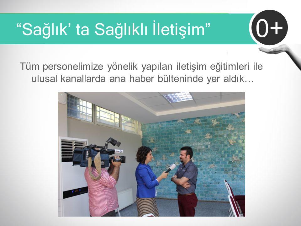"""""""Sağlık' ta Sağlıklı İletişim"""" 0+ Tüm personelimize yönelik yapılan iletişim eğitimleri ile ulusal kanallarda ana haber bülteninde yer aldık…"""