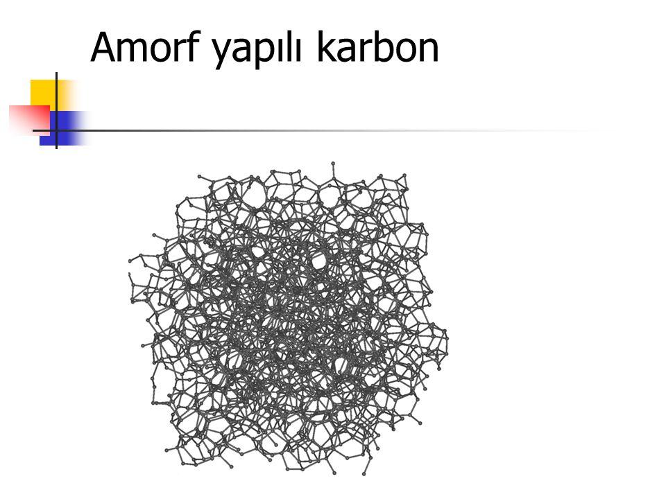 Amorf yapılı karbon