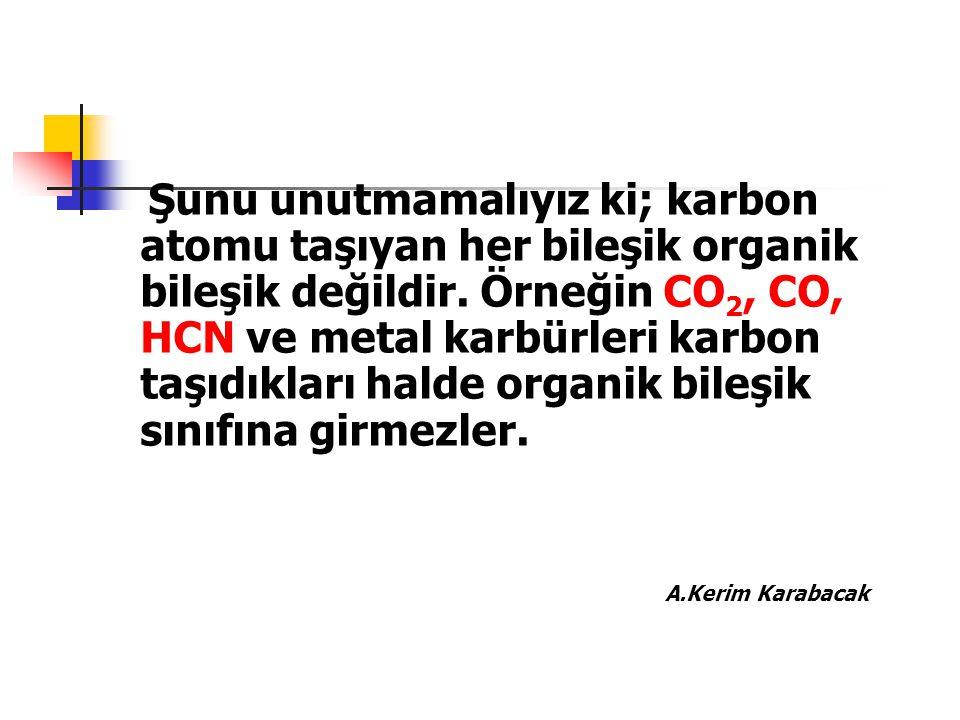 Adlandırma Kaideleri En uzun zincir esas hidrokarbon olarak alınır.