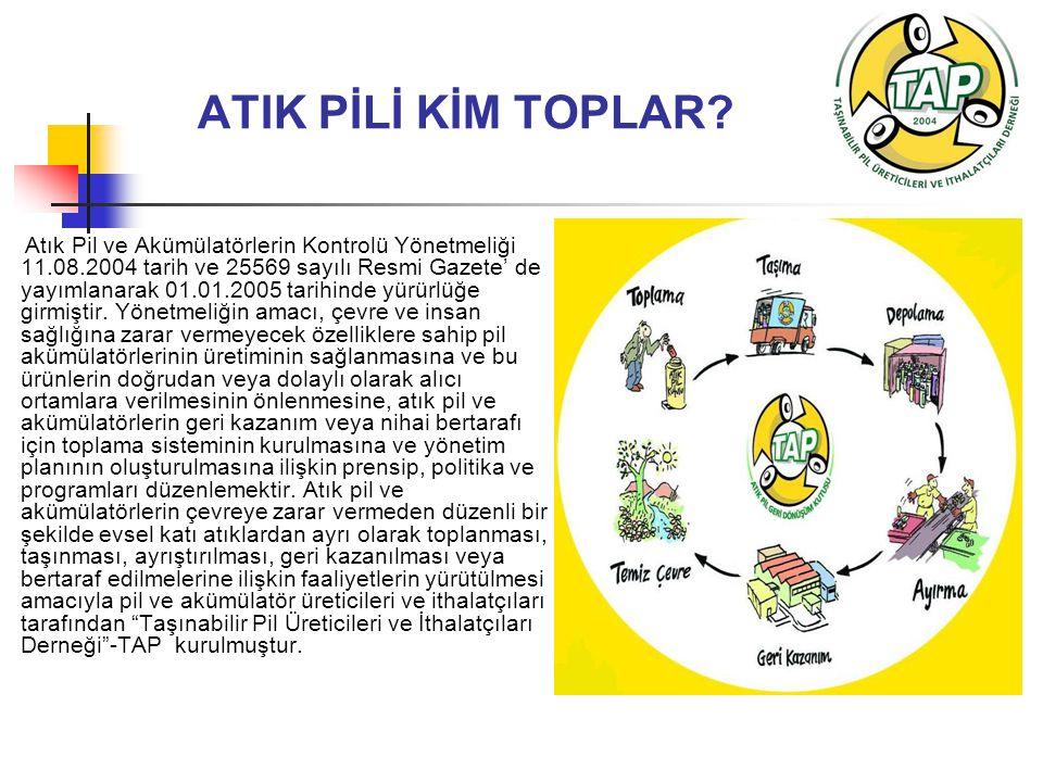 ATIK PİLİ KİM TOPLAR.