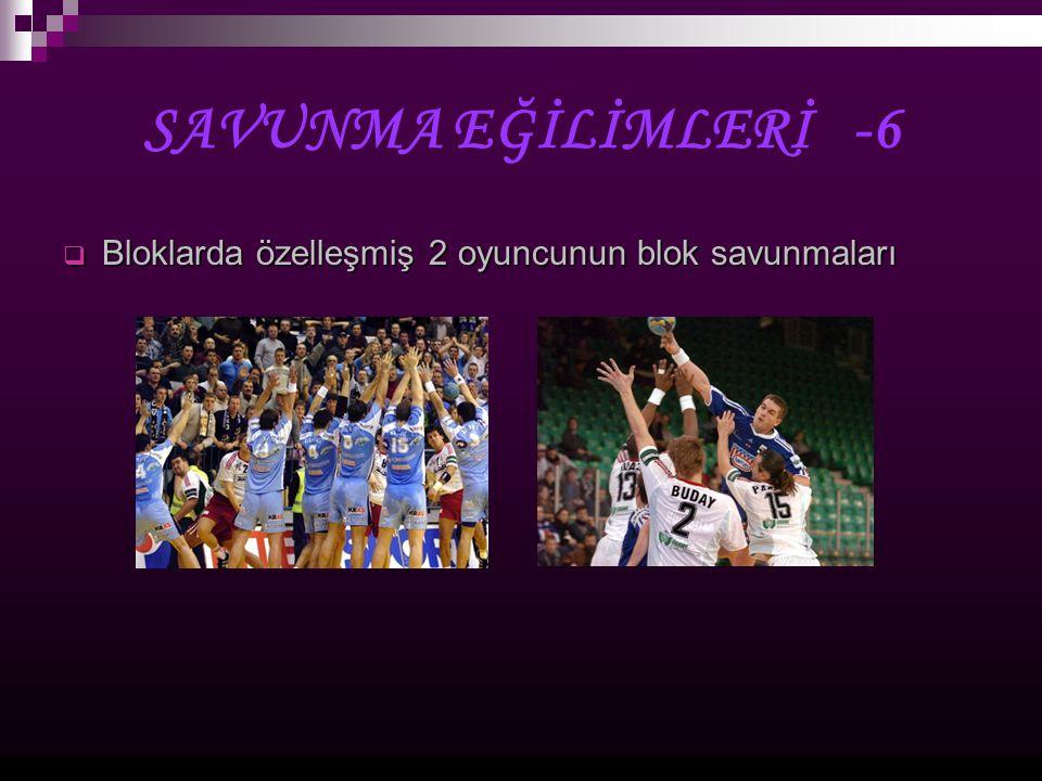 KAYNAKLAR  Sevim,Y., Taborsky,F.; Qualitative Trend Analyses of The 6'th Men European Championship, Slovenia, 2004  Pollany, W.