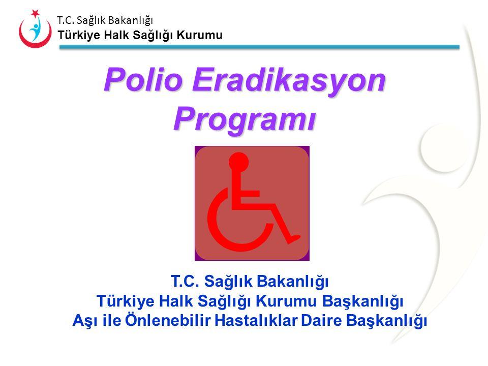 T.C.Sağlık Bakanlığı Türkiye Halk Sağlığı Kurumu Polio Eradikasyon Programı T.C.