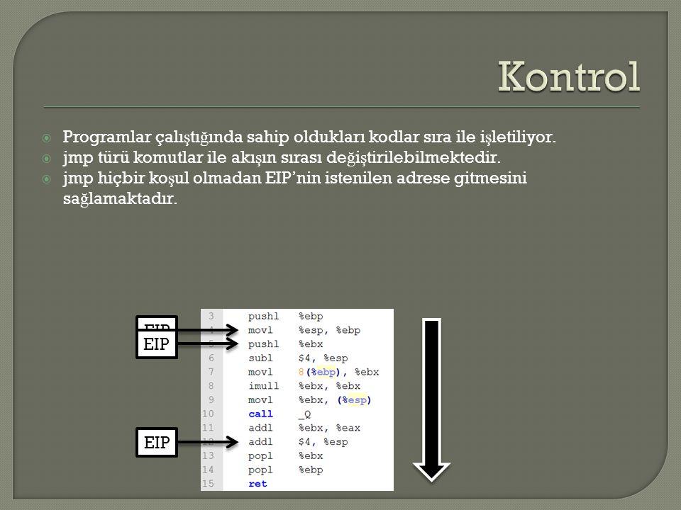  Programlar çalı ş tı ğ ında sahip oldukları kodlar sıra ile i ş letiliyor.
