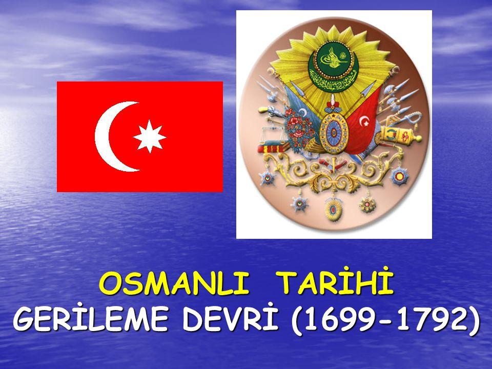 AYNALIKAVAK TENKİHNAMESİ Bu düzenlemeyle kırım'ın başına Rusya yanlısı biri getirilmiştir OSMANLI,RUS VE AVUSTURYA SAVAŞLARI ( 1787-1791 ) ZİŞTOVİ ANTLAŞMASI ( 1791) Bu antlaşma Osmanlı Devleti ile Avusturya arasında imzalanan son antlaşmadır.