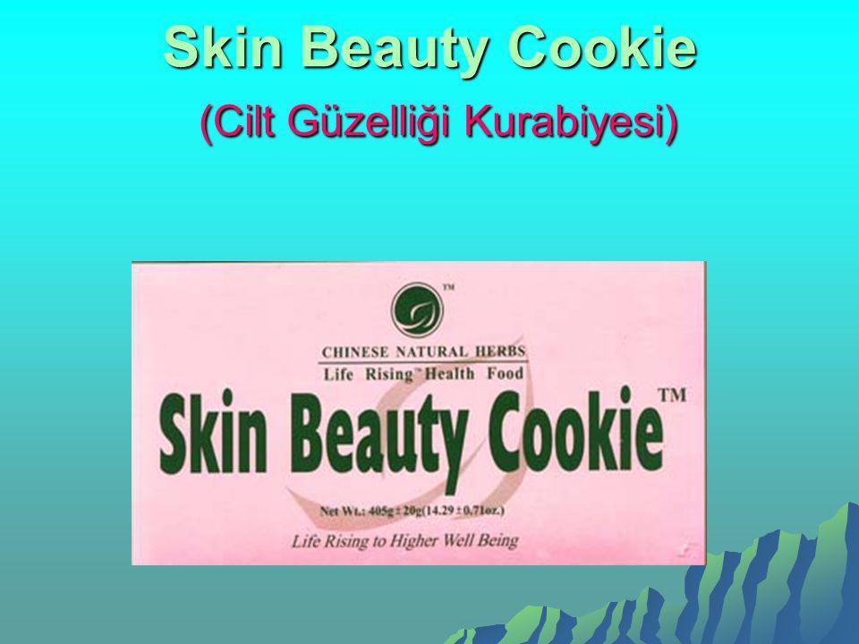 Skin Beauty Cookie (Cilt Güzelliği Kurabiyesi)