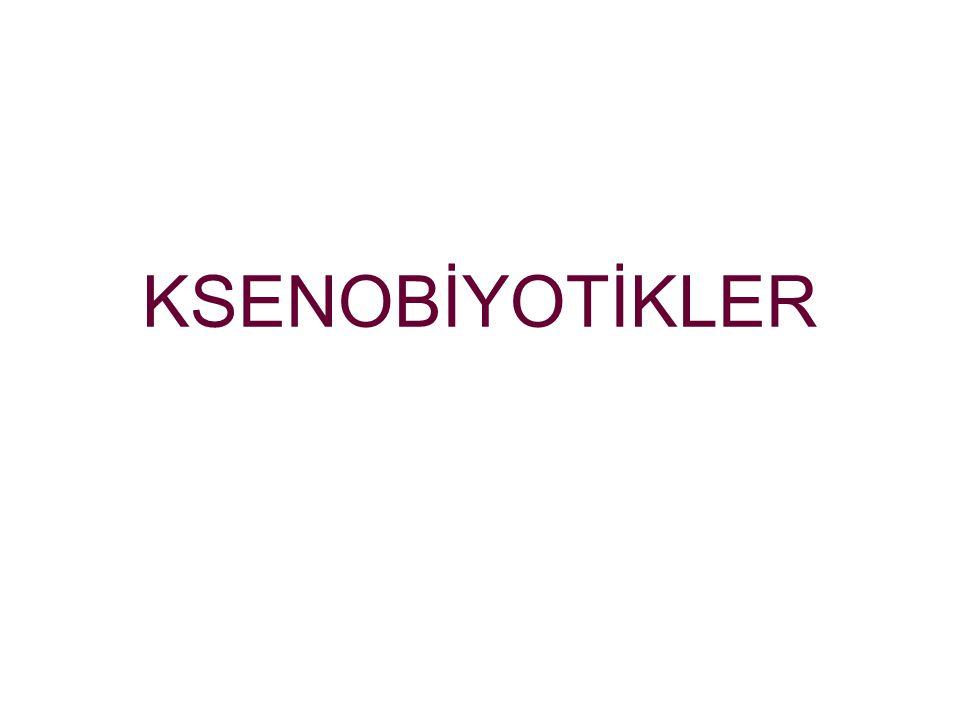 KSENOBİYOTİKLER