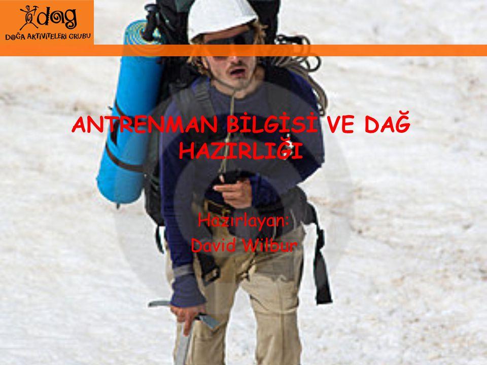 Kaynaklar Training physiology, Derleme.Stephen Seiler, webe konacak Alpine Trainigslehre.