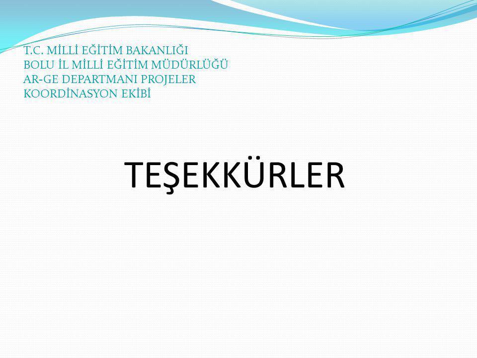 TEŞEKKÜRLER T.C.