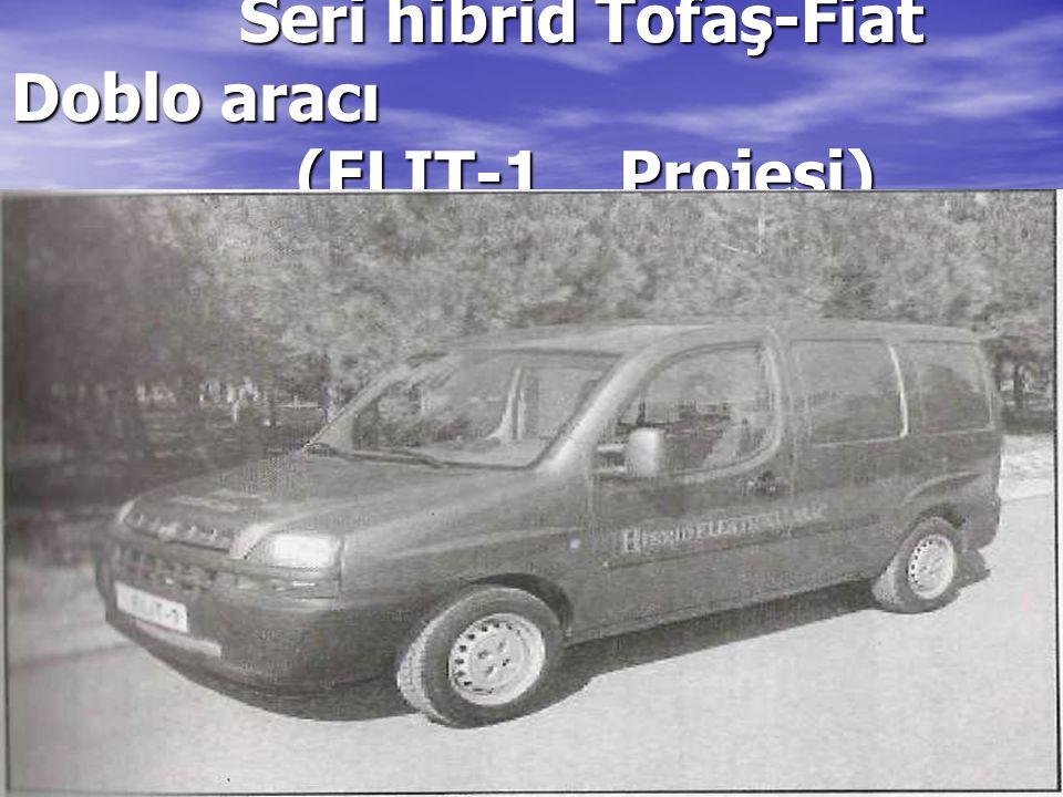 Seri hibrid Tofaş-Fiat Doblo aracı (ELIT-1 Projesi) Seri hibrid Tofaş-Fiat Doblo aracı (ELIT-1 Projesi)