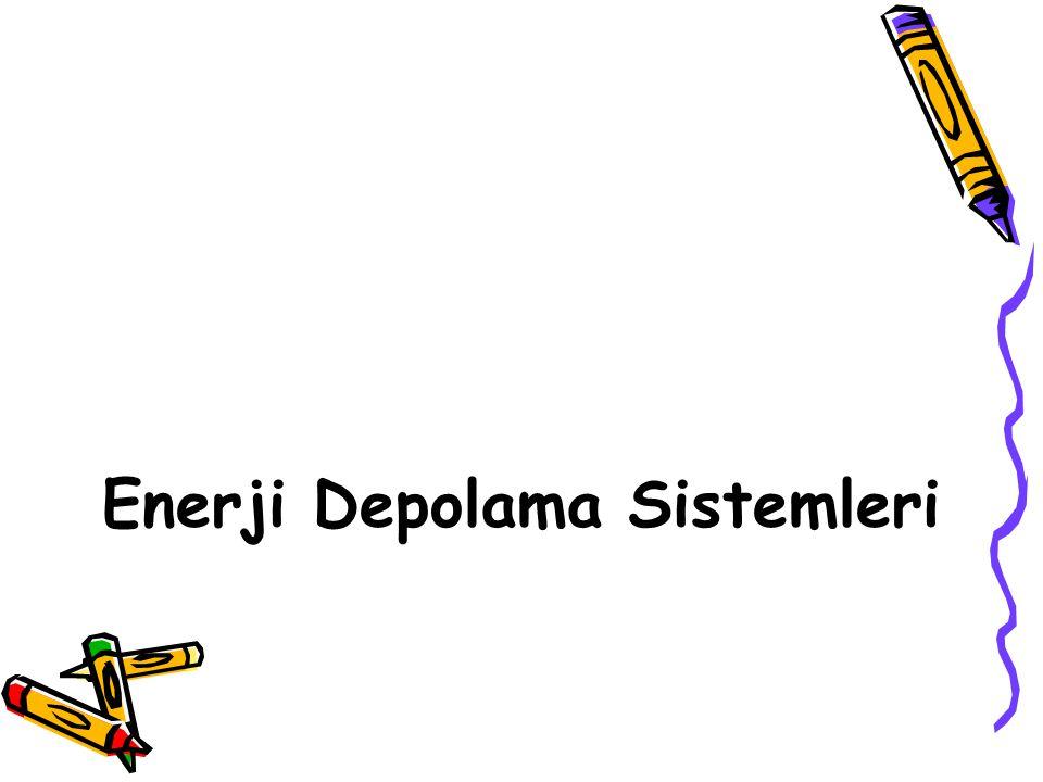 Enerji Depolama Sistemleri
