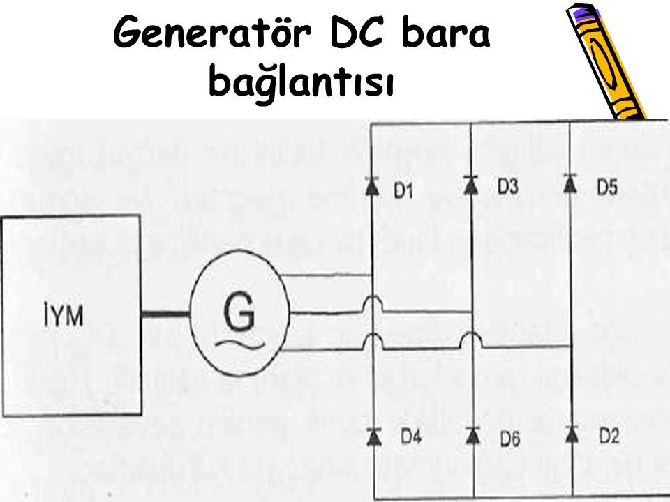 Generatör DC bara bağlantısı