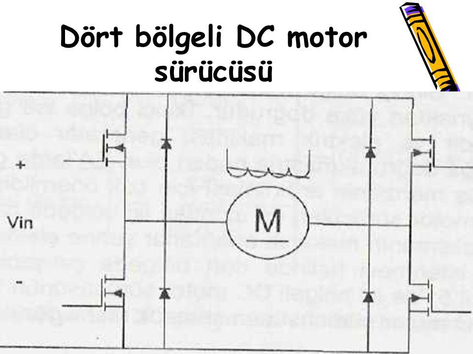 Dört bölgeli DC motor sürücüsü