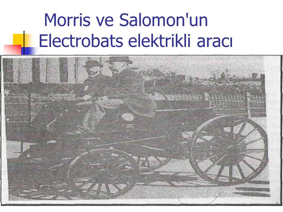 Morris ve Salomon'un Electrobats elektrikli aracı
